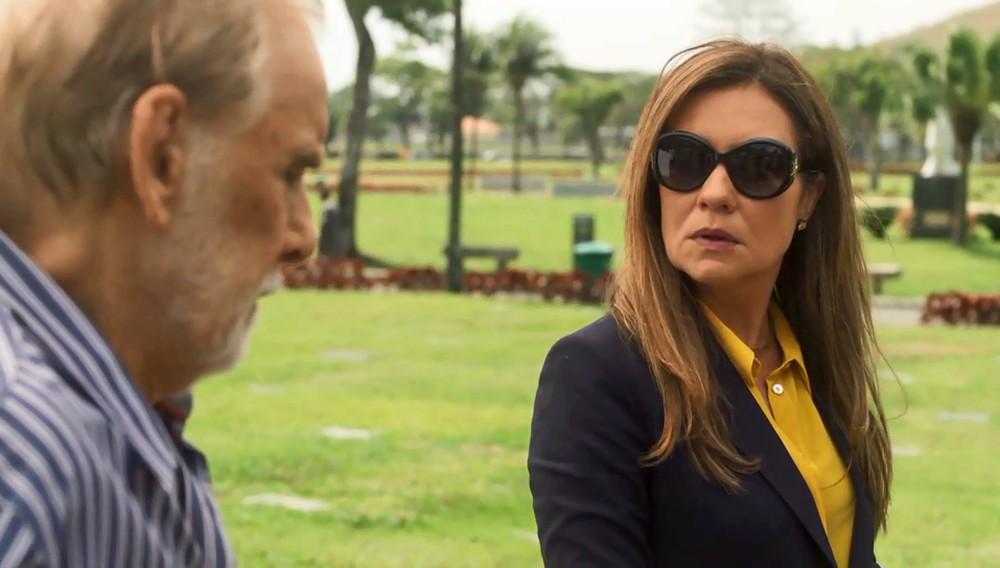 Nestor e Laureta em cena de Segundo Sol (Foto: Divulgação/Globo)