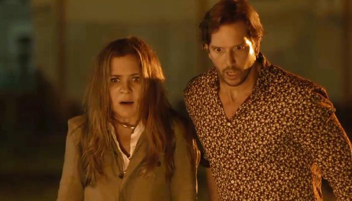 Laureta (Adriana Esteves) eRemy (Vladimir Brichta) em Segundo Sol (Foto: Reprodução/Globo)