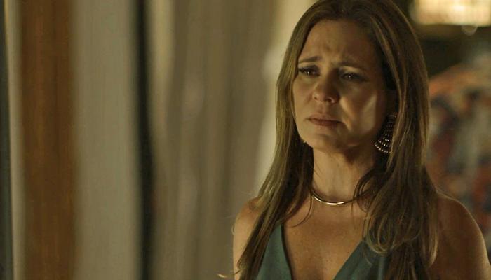 Laureta (Adriana Esteves) em Segundo Sol (Foto: Reprodução/Globo)