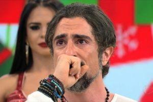 Marcos Mion chorando (Foto: Reprodução)