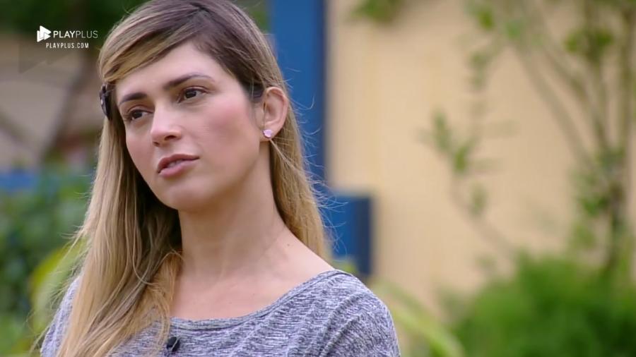 Nadja Pessoa voltou a alfinetar Ana Paula (Foto: Reprodução/PlayPlus)