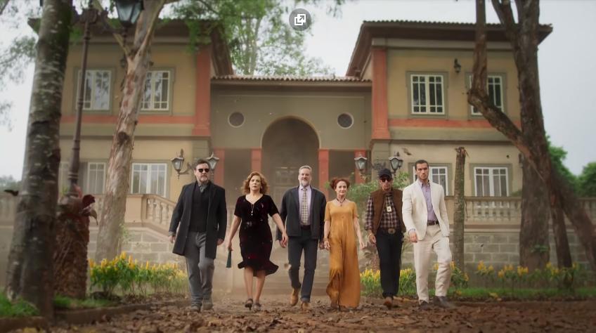 Os guardiães de O Sétimo Guardião nova novela das nove da Globo (Foto: Divulgação/Globo)