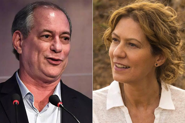Patrícia Pillar declarou seu voto em Ciro Gomes