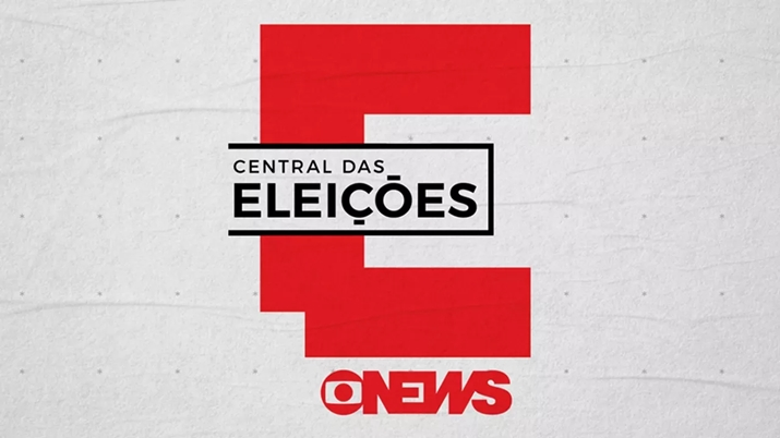 GloboNews realizou cobertura do primeiro turno com o Central das Eleições. (Foto: Reprodução)