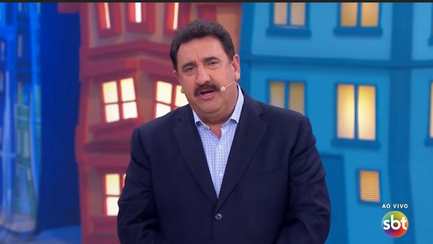 O apresentador Ratinho (Foto: Reprodução)