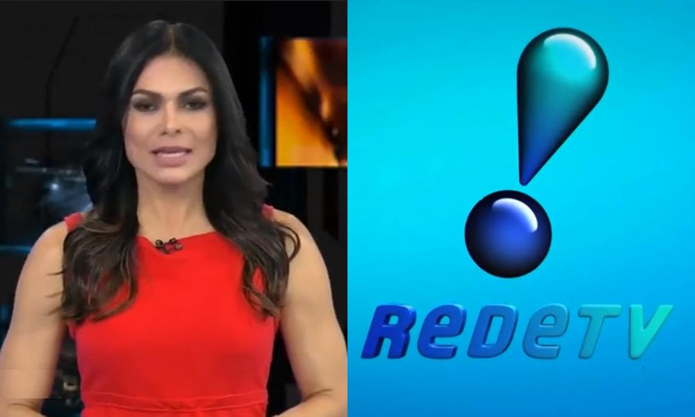 Rosana Jatobá era apresentadora da RedeTV! (Foto: Reprodução/Montagem TV Foco)
