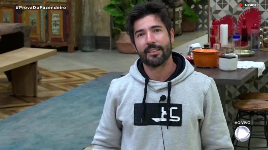 Sandro Pedroso foi eliminado de A Fazenda Imagem: Reprodução/RecordTV