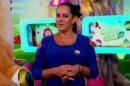 A apresentadora Silvia Abravanel no comando do Bom Dia e Cia (Foto: Reprodução/SBT)