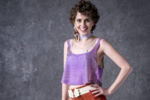 Carol Duarte (Stefânia) em O Sétimo Guardião (Foto: João Cotta/Globo)
