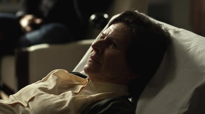 Denise Weinberg em cena de Psi. (Foto: Divulgação)