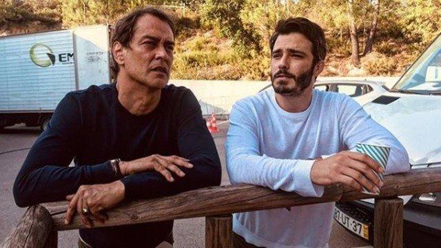 Marcelo Antony e Thiago Rodrigues, Jesus e Vasco respectivamente na novela portuguesa Valor da Vida (Foto: Reprodução)