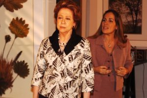 Bia (Fernanda Montenegro) e Júlia (Gloria Pires) em Belíssima (Foto: Globo/Renato Rocha Miranda)