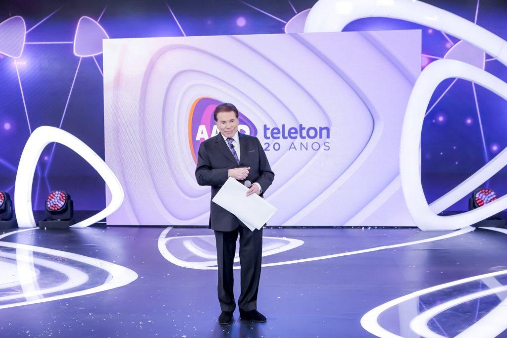Silvio Santos estava bravo no Teleton deste ano (Imagem divulgação: SBT)