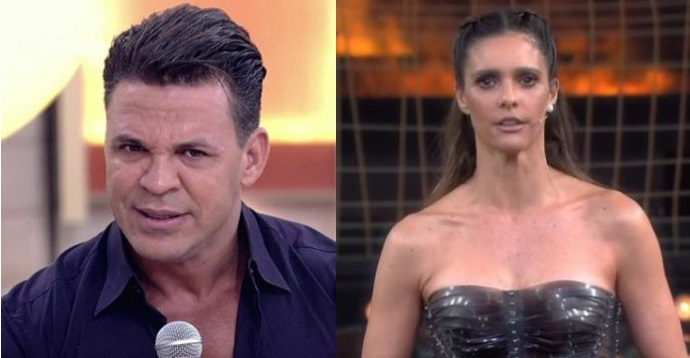 Eduardo Costa criticou Fernanda Lima (Foto: Reprodução)