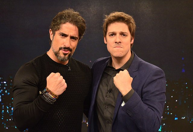 Marcos Mion e Fábio Porchat (Foto: Reprodução)