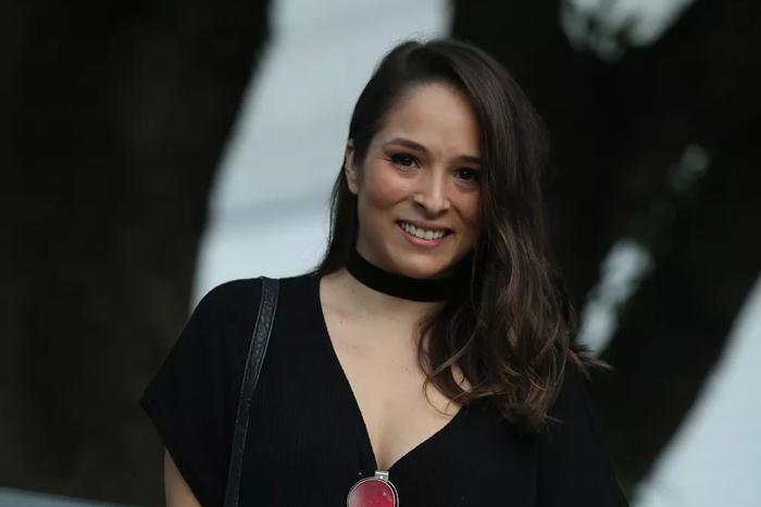 Nathalia Serra está em O Tempo Não Para (Foto: Reprodução)