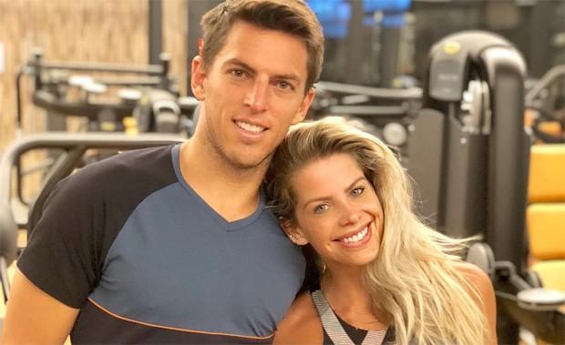 Amaury Nunes e Karina Bacchi (Foto: Reprodução / Instagram)