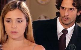 Amélia (Adriana Esteves) e Nélio (Vladimir Brichta) em Coração de Estudante (Foto; Reprodução)
