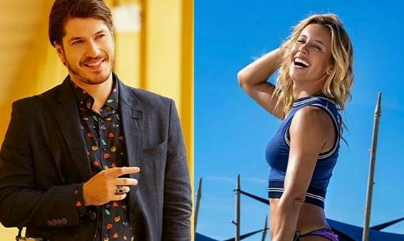 Cristiane Dias e Caio Paduan formam o mais novo casal. (Foto: Reprodução)