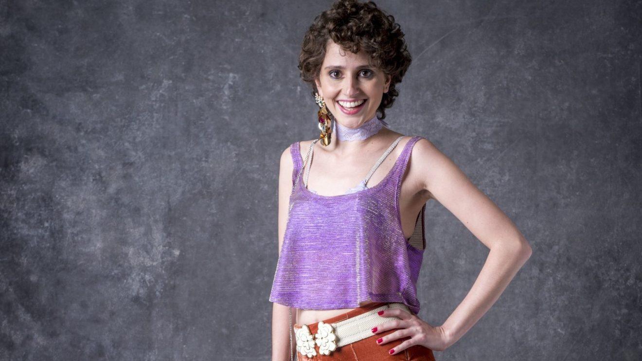 Carol Duarte como a Stefânia de O Sétimo Guardião (Foto: Divulgação/Globo)