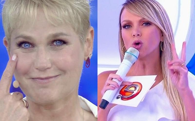 Eliana e Xuxa são tidas como rivais; Apresentadora do SBT é mãe de Manuela (Foto: Reprodução)