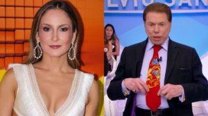 Após protagonizar suposto assédio no Teleton, Silvio Santos preferiu não  interagir com Claudia Leitte f21e0e2252
