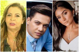 Dona Bill, Wesley Safadão e Mileide Mihaile (Foto: Reprodução)