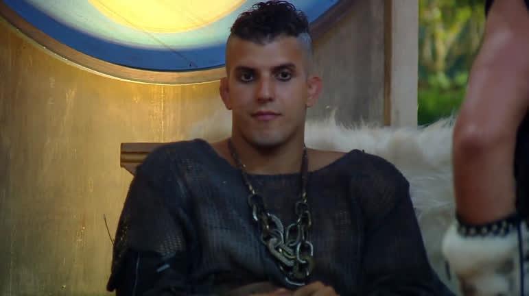 Felipe Sertanejo em A Fazenda 10 (Foto: Reprodução)
