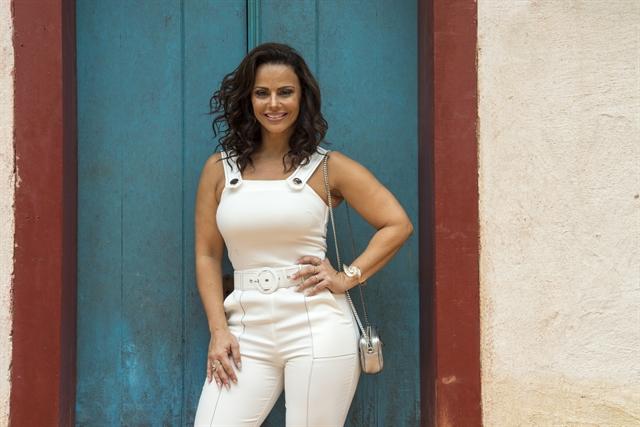 Viviane Araújo em O Sétimo Guardião (Foto: Globo/Estevam Avellar)