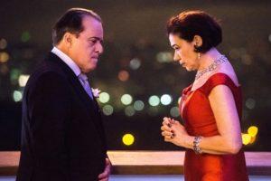 Olavo (Tony Ramos) e Valentina (Lília Cabral) em O Sétimo Guardião (Foto: Globo/Fábio Rocha)
