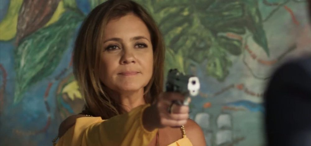 Adriana Esteves roubou a cena como Laureta no final de Segundo Sol