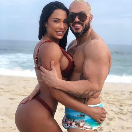 Belo e Gracyanne Barbosa (Foto: Reprodução)
