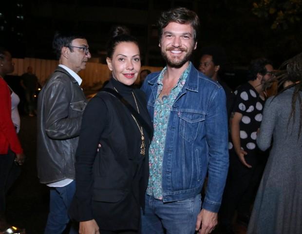 Os atores Emilio Dantas e Fabiula Nascimento (Foto: Daniel Pinheiro/AgNews)