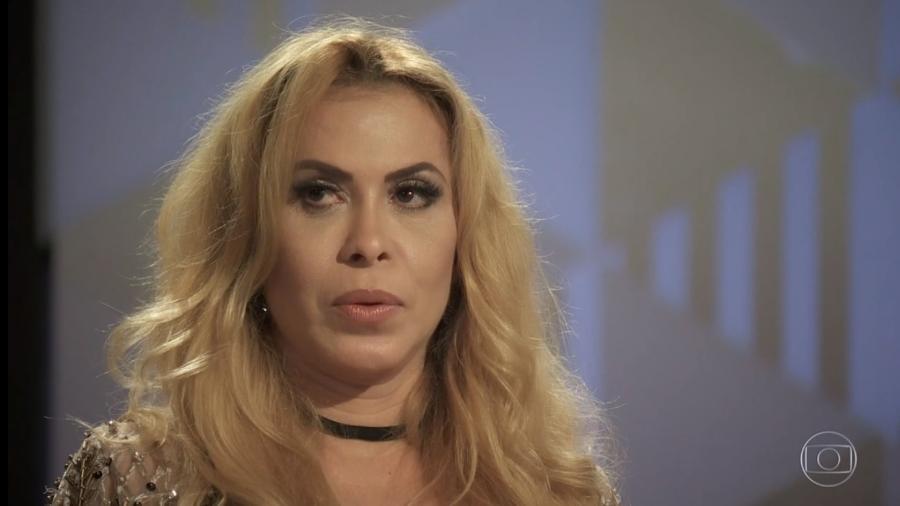 Joelma apareceu em uma rara foto na companhia da filha (Foto: Divulgação/Globo)