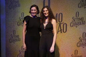 Lilia Cabral e a filha em O Sétimo Guardião (Foto: Divulgação)