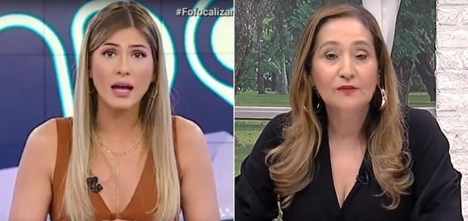 Lívia Andrade e Sônia Abrão (Foto: Divulgação)