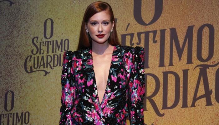 Marina Ruy Barbosa no lançamento de O Sétimo Guardião (Foto: Ag. News)