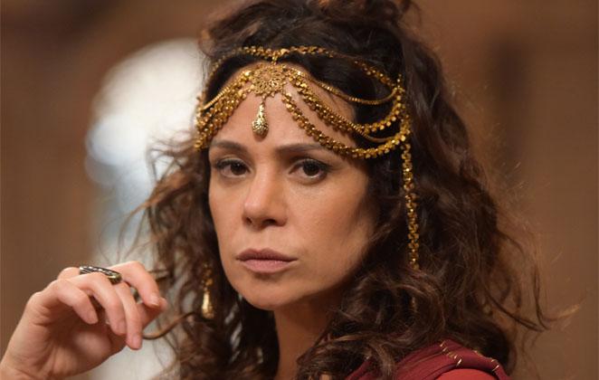 Vanessa Gerbelli em cena da novela Jesus, da Record (Foto: Reprodução)