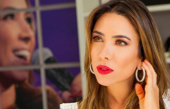 A apresentadora Patricia Abravanel revelou proibição do marido para Silvio Santos