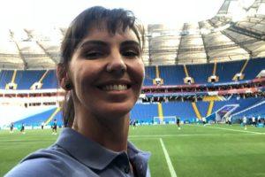 """Glenda Kozlowski """"deixará"""" a Globo para comandar o Tá na Área no SporTV. (Foto: Reprodução)"""