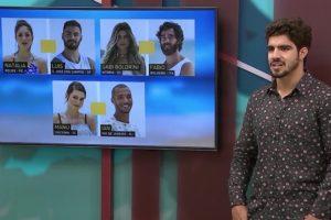 Caio Castro comandou a última temporada do Are You The One? Brasil. (Foto: Reprodução)