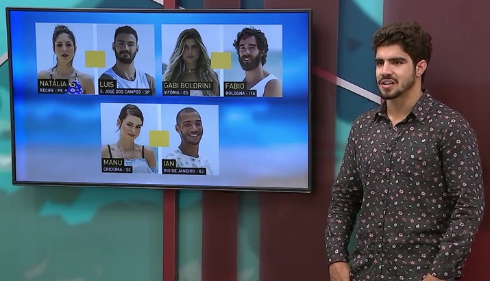 Caio Castro comandou a última temporada do Are You The One  Brasil. (Foto 86e0983e87e3c