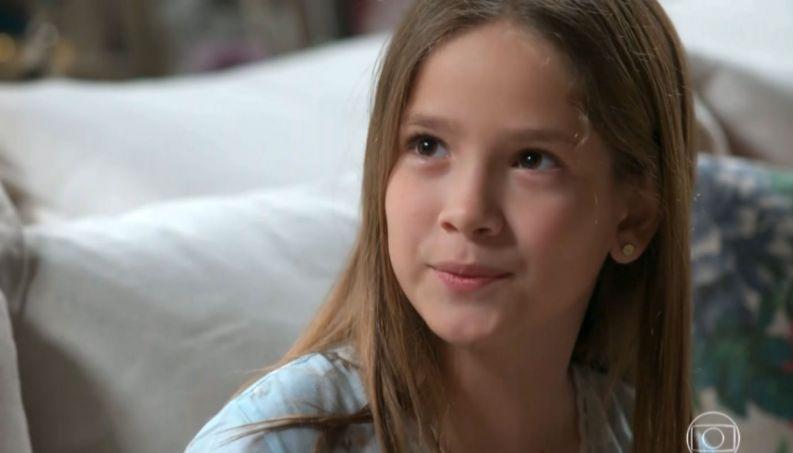 Priscila em cena na novela Espelho da Vida (Foto: Reprodução/ Globo)