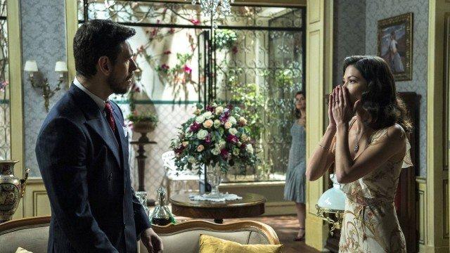 Gustavo Bruno levará um tapa em Espelho da Vida (Foto: Estevam Avellar/ Divulgação/ Globo)