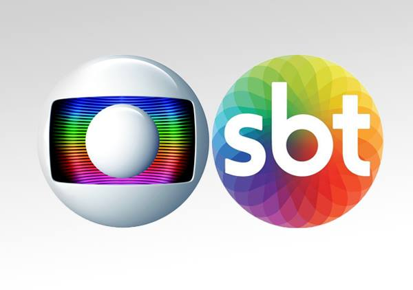 Globo x SBT (Foto: Reprodução)