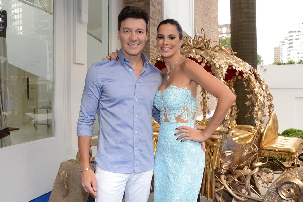 Rodrigo Faro e Vera Viel: juntos há vinte anos! (Eduardo Martins/AgNews)
