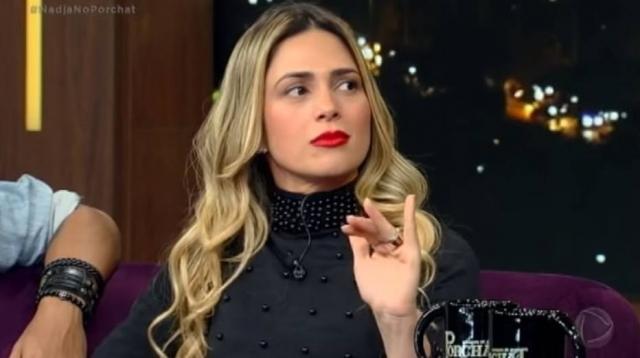 Nadja Pessoa estaria muito chateada com provocações de bailarina do Dancing Brasil que está na final com Vinicius D`Black