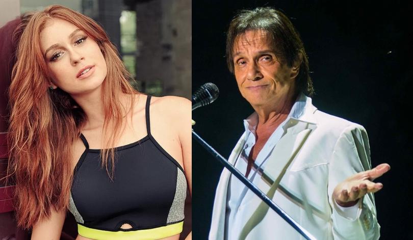 Marina Ruy Barbosa e Roberto Carlos (Foto: Reprodução)