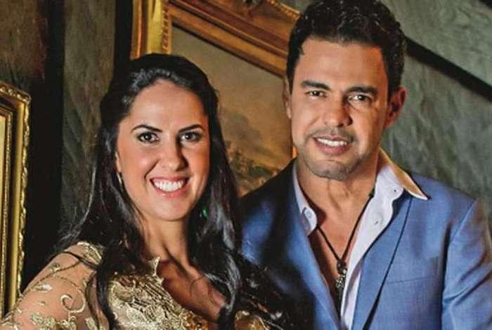 Graciele Lacerda e Zezé di Camargo (Foto: Divulgação)