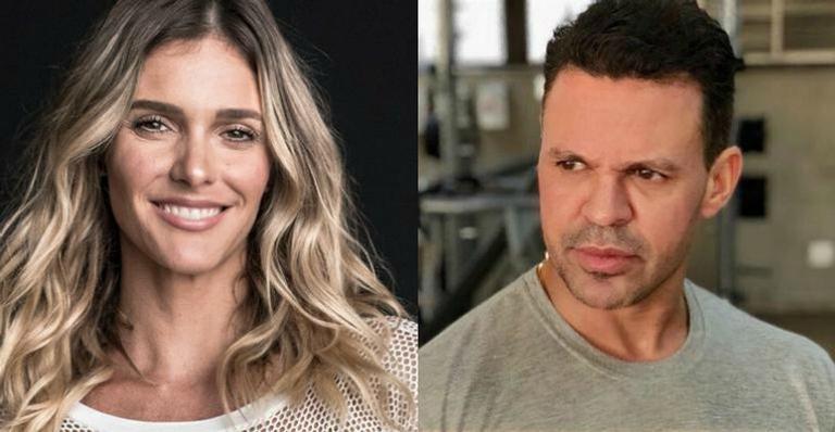 A apresentadora Fernanda Lima e o cantor Eduardo Costa (Foto: Reprodução)